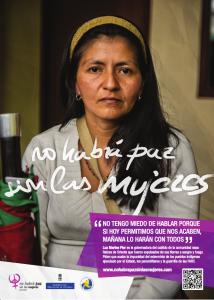 Luz Marina, gobernadora del cabildo Nasa Raíces de Oriente