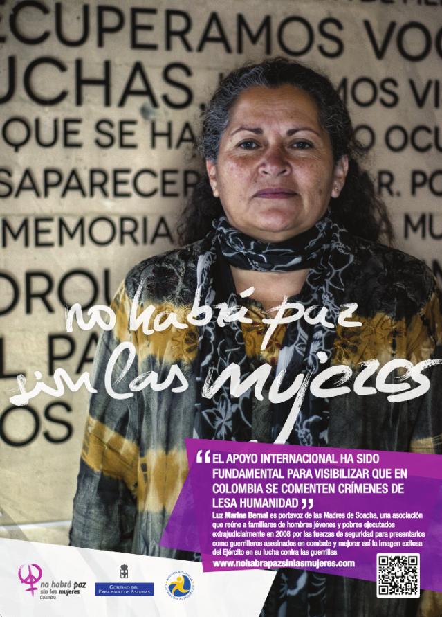 Luz Marina, integrante del colectivo Madres de Soacha