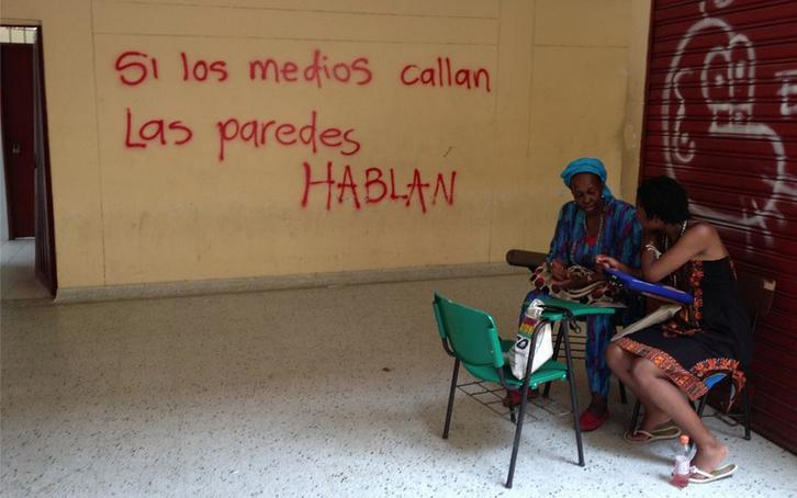 Congreso Nacional de comunidades negras en la Universidad de Quibdó, agosto de 2013 (Patricia Simón)