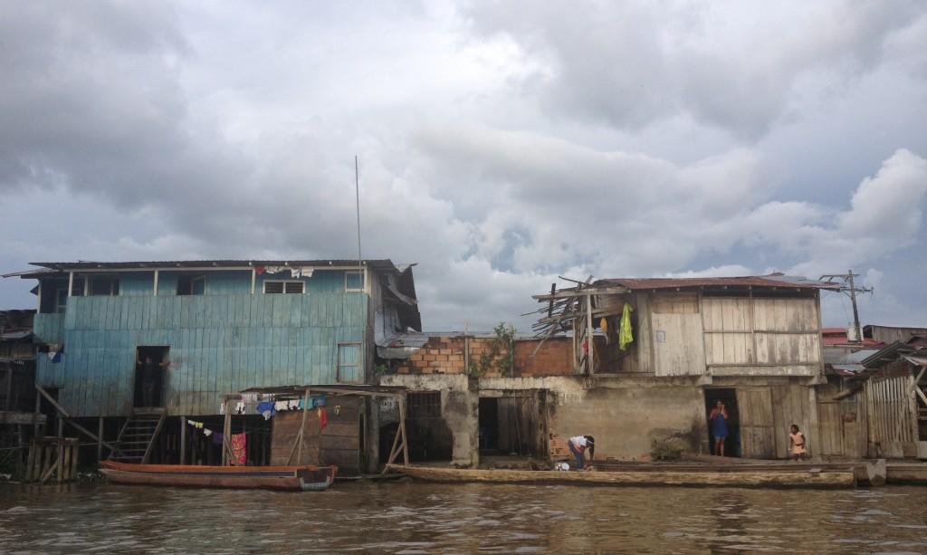 Poblado del río Atrato (P.S.)